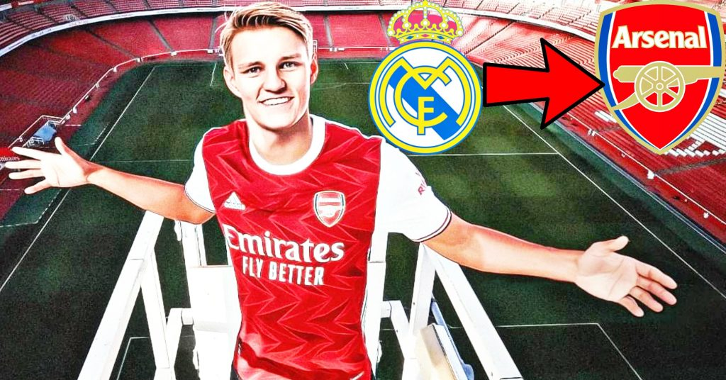 Martin Odegaard to Arsenal on loan
