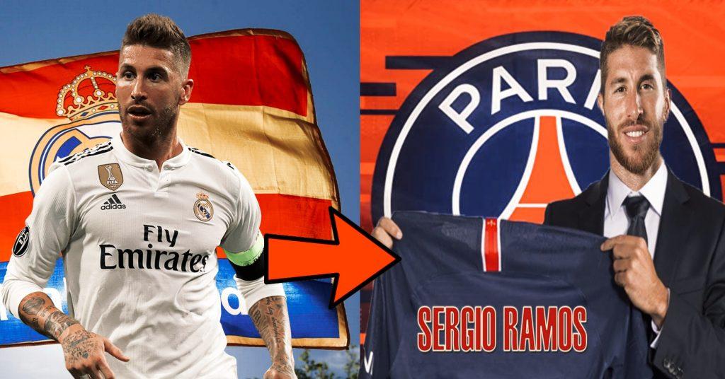 Sergio Ramos leaves Real Madrid for PSG