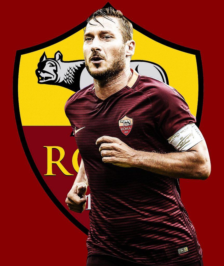 Francesco Totti AS Roma Legend