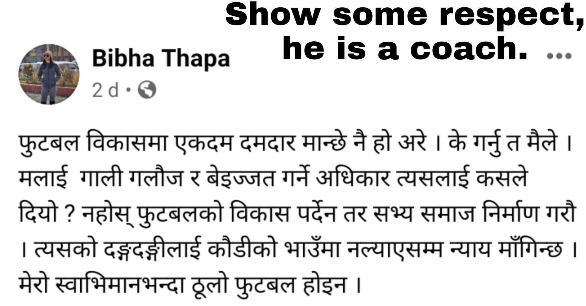Bibha Thapa