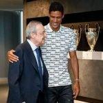 Raphael Varane Waved Goodbye To Real Madrid Players