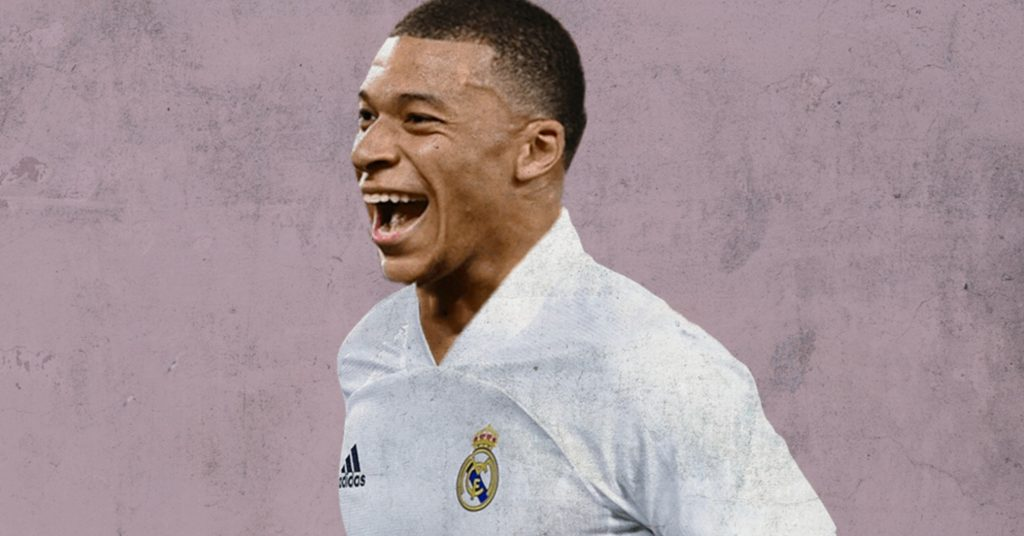 Kylian Mbappe to Real Madrid