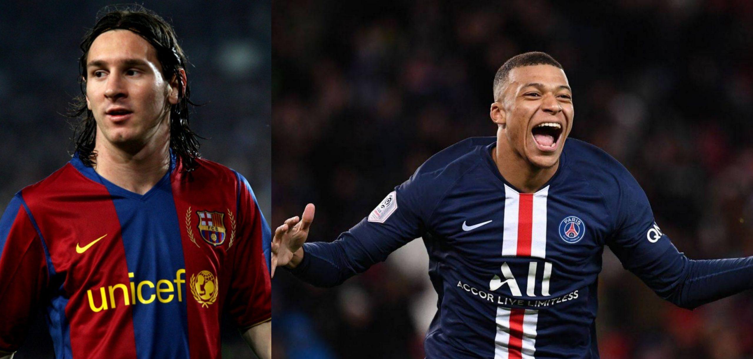 Messi vs Mbappe