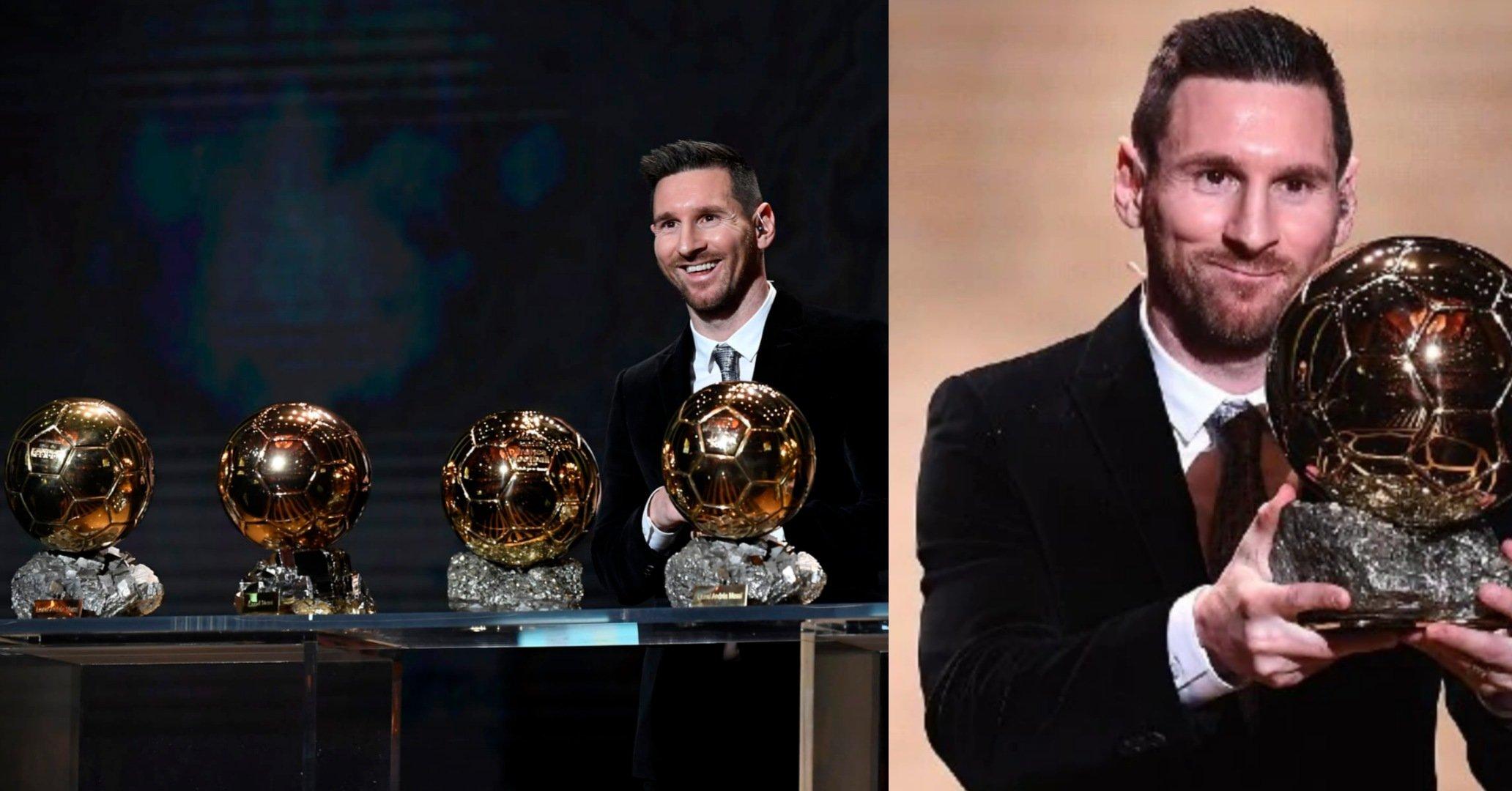 Messi Balon d'Or