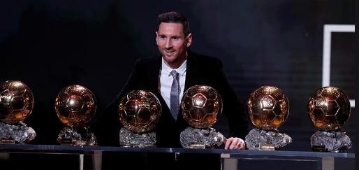 Messi 6 balon d'Or